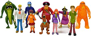 Scooby Doo Monster Set Action Figure, 10 Pack