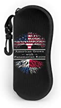 Vansion American Grown W Mexican Sunglasses Soft Bag Zipper Glasses Case With Carabiner