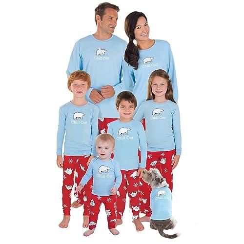 2427a9e956 PajamaGram Family Pajamas Chill Out - Family Christmas Pajamas Set