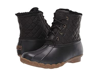 Sperry Saltwater Winter Lux (Black Quilt) Women