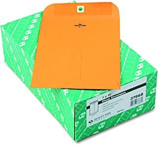 Quality Park Clasp Envelopes, 7 x 10 - Inch, Brown Kraft, Box of 100 (37868)