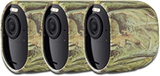 Fundas de Silicona Protectoras compatibles con cámara de Seguridad Arlo Ultra – Decora y Protege tu cámara Arlo (Camuflaje – Pack de 3)