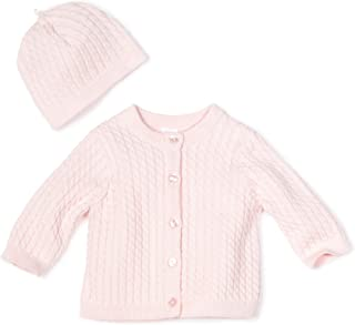 Little Me Baby Girls' Light Pink Cable Sweater