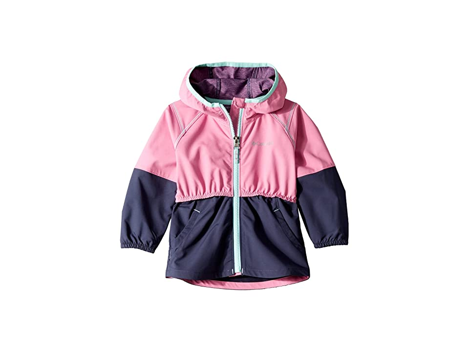 Columbia Kids Hidden Canyontm Softshell Jacket (Toddler) (Orchid/Nocturnal/Gulf Stream) Girl