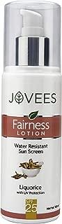 Jovees Water Resistant Sun Screen Fairness Lotion SPF 25 100 ml