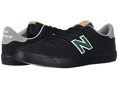 New Balance Numeric AM210 (Black/Green) Skate Shoes