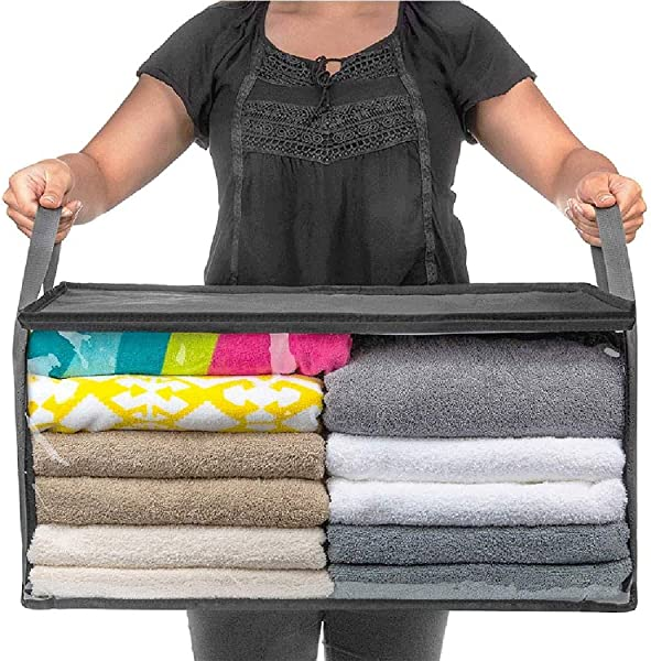 Ailler Foldable Storage Bag Home Clothes Dustproof Moisture Proof Storage Box Drawer Organizers