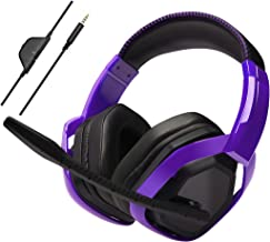 AmazonBasics Pro Gaming Headset - Purple