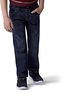 Lee Boys' Performance Series Extreme Comfort Pull-On Relaxed Tapered Leg Jean