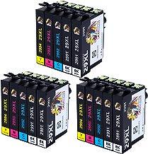 AUBEN 29XL para Epson 29 Cartuchos de Tinta 15 Compatibles con Epson Expression Home XP-255 XP-245 XP-342 XP-442 XP-235 XP-257 XP-345 XP-332 XP-247 XP-445 XP-432 XP-335 XP-435 XP-352 XP-355 XP-455