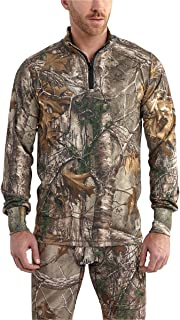 Carhartt Men's 102224 Base Force Extremes Cold Weather Camo Quarter Zi