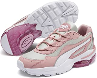 PUMA Womens Cell Stellar Trainers Sneakers in Bridal Rose/Gray Violet.