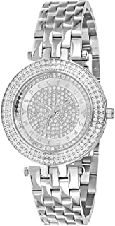 Spectrum Women's Silver Dial Stainless Steel Band Watch - 25155L-9