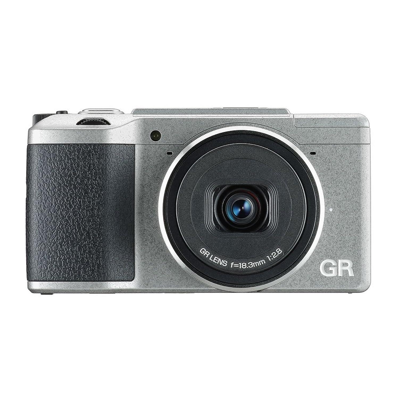 RICOH デジタルカメラ GRII Silver Edition APS-CサイズCMOSセンサー ローパスフィルタレス 175870