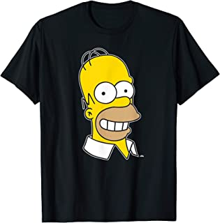 The Simpsons Homer Simpson Face T-Shirt