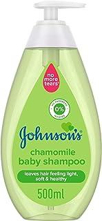 JOHNSON'S Baby Wash, Shampoo, Chamomile, 500ml