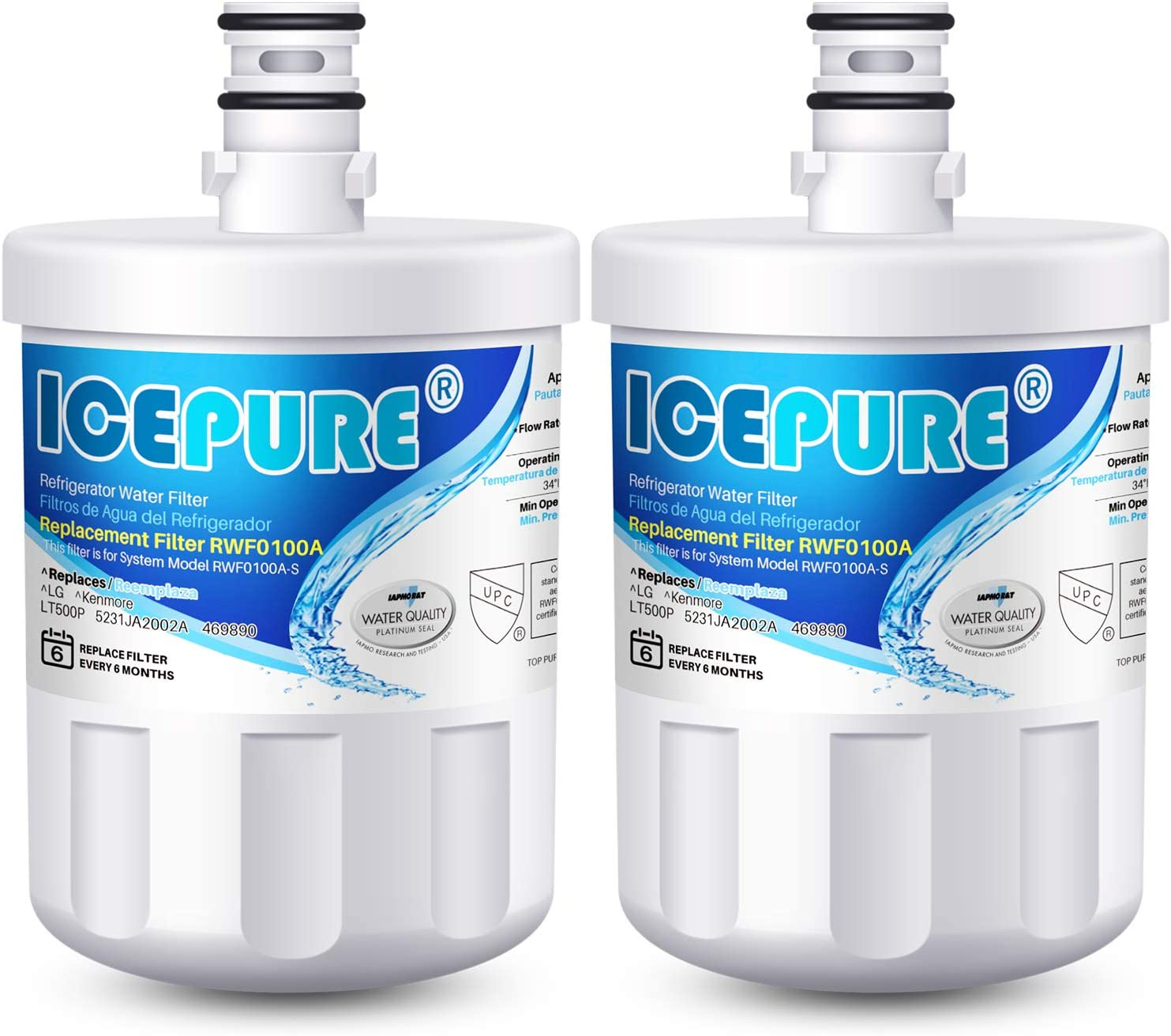 ICEPURE 5231JA2002A Refrigerator Water LG 40% OFF Cheap Sale Compatible with Special Campaign Filter