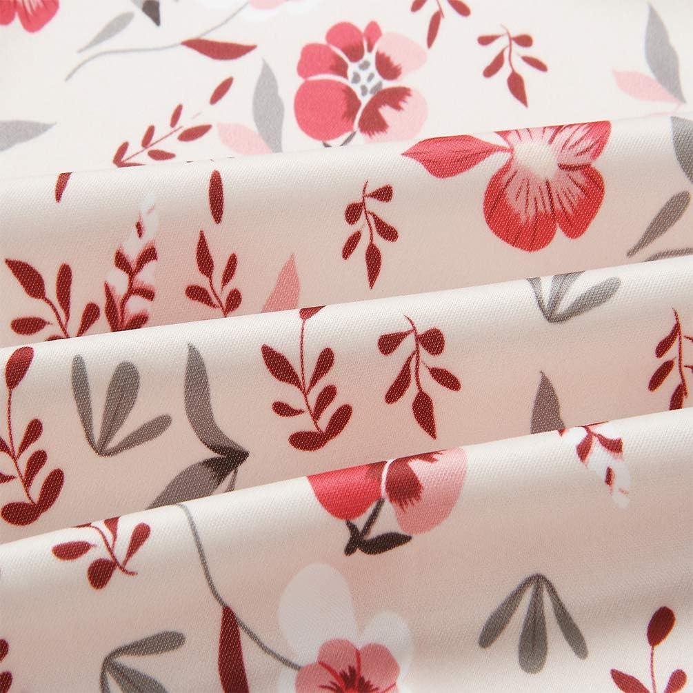 SODSIM Bomberjacke Damen Blumen Leicht Kurze Jacke Frühling Herbst Reißverschluss Stehkragen Casual Coat Outwear Rosa