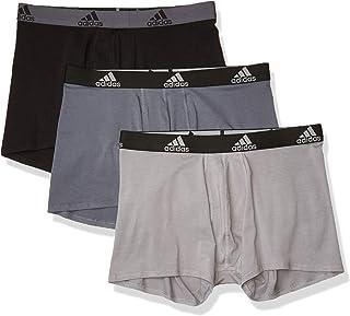 adidas Men's Stretch Cotton Trunk Underwear (3-Pack)