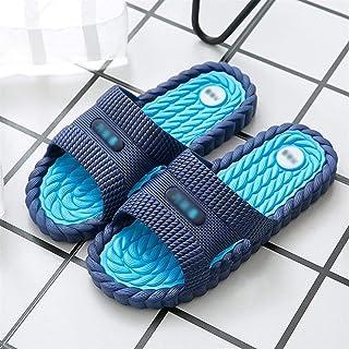 YAOLUU Summer Slippers Zapatos de Ducha del baño del Deslizador de la Sandalia de la Mujer y Hombre de Baño Piscina de Sec...