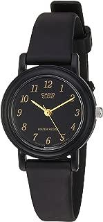Women's 'Classic' Quartz Resin Casual Watch, Color:Black (Model: LQ139A-1)