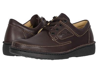 Clarks Nature II (Brown Leather) Men
