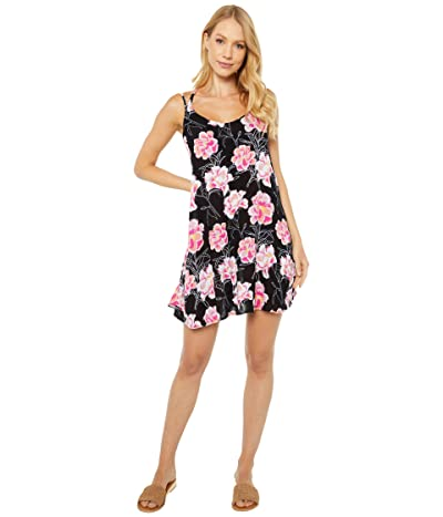 Roxy Be in Love Cover-Up Dress (Anthracite Zilla) Women