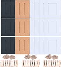Sunmns Wall Decor Hanging Display Paper Photo Frame Set for Fujifilm Instax Mini 9 8 70 90 26 Film, 30 Piece (Mixing Colors)