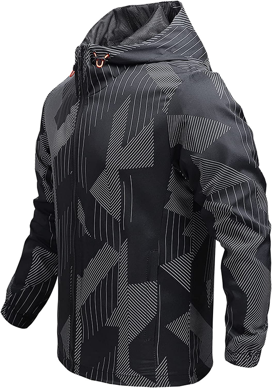 Men's Mountain Jackets Waterproof Hoodies Outdoors Casual Sports
