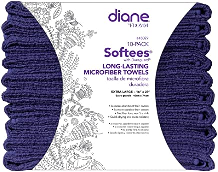 Diane Softees 45027 S Towel, Navy