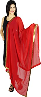 Neck Wrap Long Stole Viscose Chiffon Dupatta Indian Scarves Chunni Gift For Her