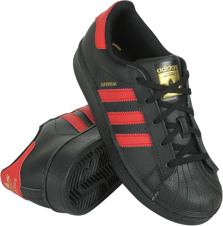 Adidas Originals Superstar, Jungen Turnschuhe, Cschwarz Scarle Goldmt - Größe  27 M EU Art B01M1O6Q8Y  Amoy