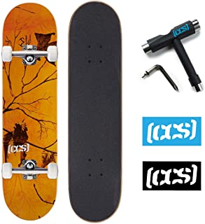 CCS x Realtree Skateboard Complete Camo with Skateboard Tool and Stickers