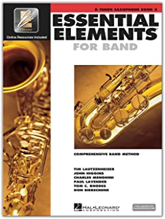 Hal Leonard Essential Elements for Band - Bb Tenor Saxophone (Book 2 with EEi)