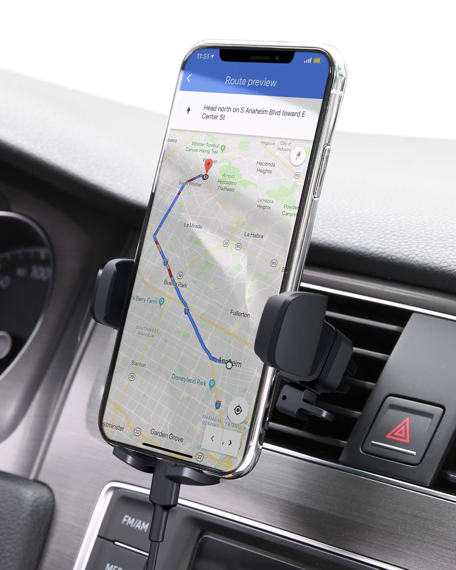 AUKEY Holder Compatible iPhone Samsung