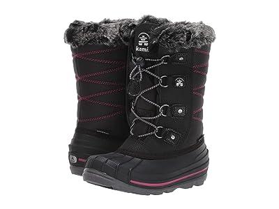 Kamik Kids Frosty Lake (Little Kid / Big Kid) (Black) Girls Shoes