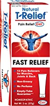 T-Relief Pain Relief Gel - Homeopathic Formula with Arnica to Soothe Minor Joint, Back and Muscular Pain - 2 Ounce