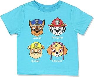 Paw Patrol Boys Short Sleeve Tee (Toddler/Little Kid)