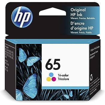 HP 65   Ink Cartridge   Tri-color   N9K01AN