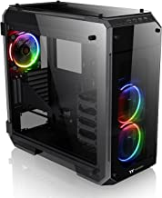 Thermaltake View 71 RGB 4-Sided Tempered Glass Vertical GPU Modular E-ATX Gaming Full Tower Computer Case CA-1I7-00F1WN-01