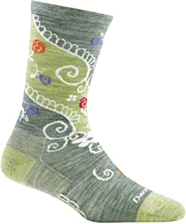 Darn Tough Twisted Garden Crew Light Sock - Women's