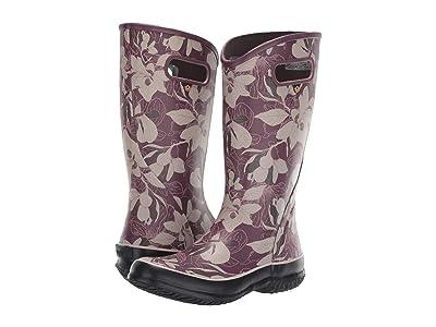 Bogs Spring Vintage Rain Boot (Violet Multi) Women