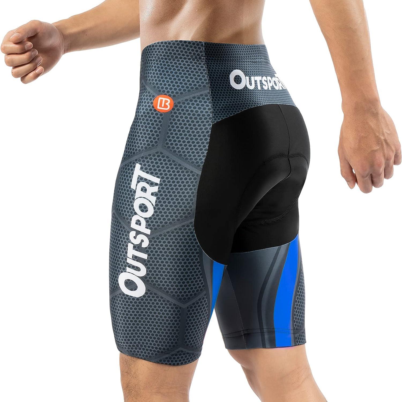 Max 63% OFF Discount mail order Hiauspor Biking Shorts for Men 4D Pockets Cyclin Bike Padded Big