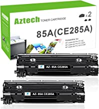 Aztech Compatible Toner Cartridge Replacement for HP 85A CE285A (Black, 2-Packs)