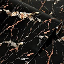LELE LIFE Marble Decorative Wallpaper, Removable Marble Contact Paper, Wall Paper for Counter Top, Decorative Adhesive Mar...