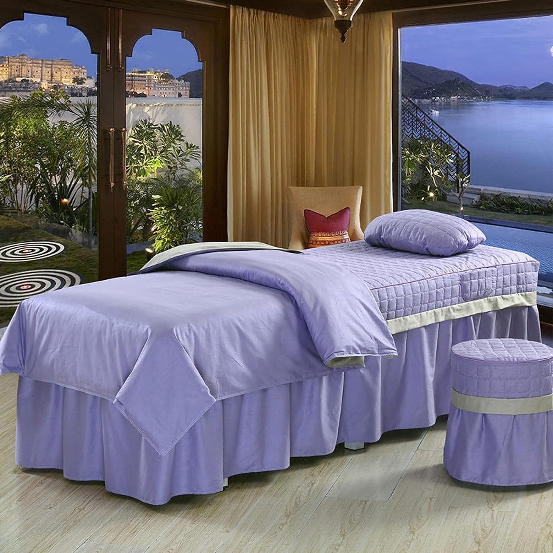 sale WANGLX 4-Piece Massage Table Set Sheet Skirt Four-P Max 50% OFF