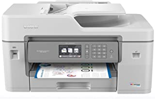 """Brother MFC-J6545DW INKvestmentTank Color Inkjet All-in-One Printer with Wireless, Duplex Printing, 11"""" x 17"""" Scan Glass a..."""