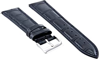 22MM LEATHER WATCH BAND STRAP FOR SEIKO SRP777 SRP775 SRP773 SRP775 DARK BLUE