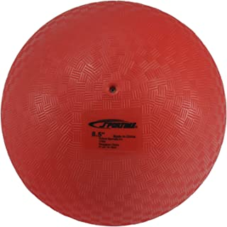Sportime 1293609 Playground Ball, 8-1/2 Inches, Red