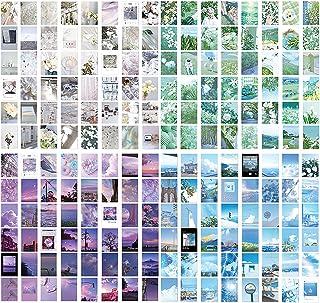 TIE-DailyNec Washi Sticker Autocollants de Paysages Naturels (4 Ensembles de 200 Pièces), Autocollant de Scrapbooking Déco...